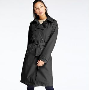 TIMBERLAND WOMEN'S WATERPROOF BELTED TRENCH COAT